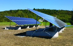 The Westford, VT, 17.5 kW Coyote Ridge Community Solar System was completed in October, 2013.