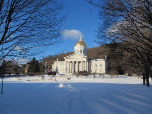 The Vermont State House, photo by John Phelan