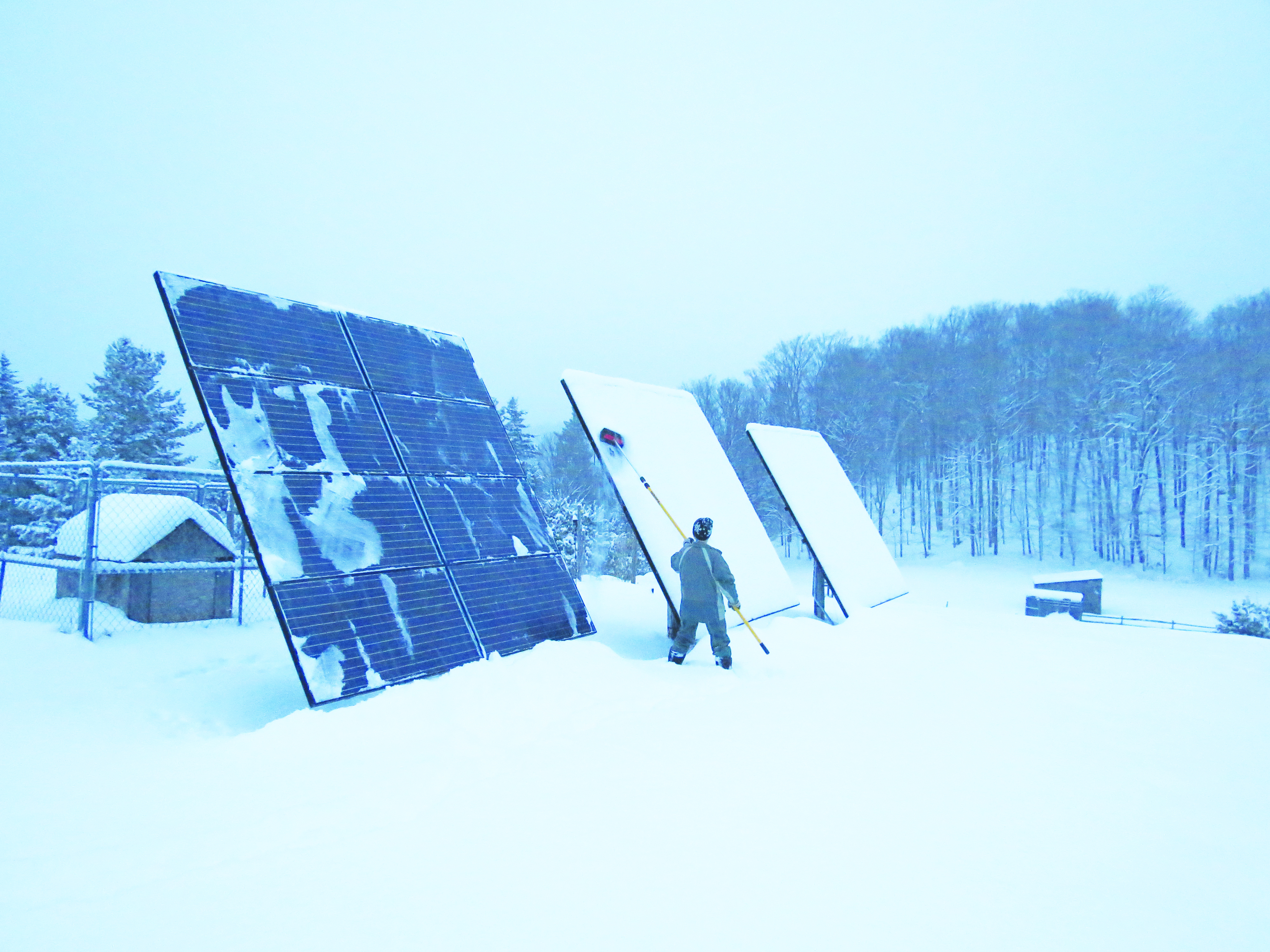 Get More Energy From Your Solar In The Winter 171 Green