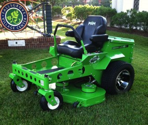 Two Lithium lawnmowing options. No gas or oil, no emissions, no maintenance, quiet…