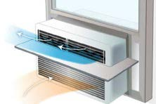 Installing a diverter helps to maximize cool air flow from the air conditioner.
