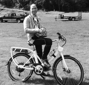 Electric pedal assisted Zoombike, from Middlesex, Vermont