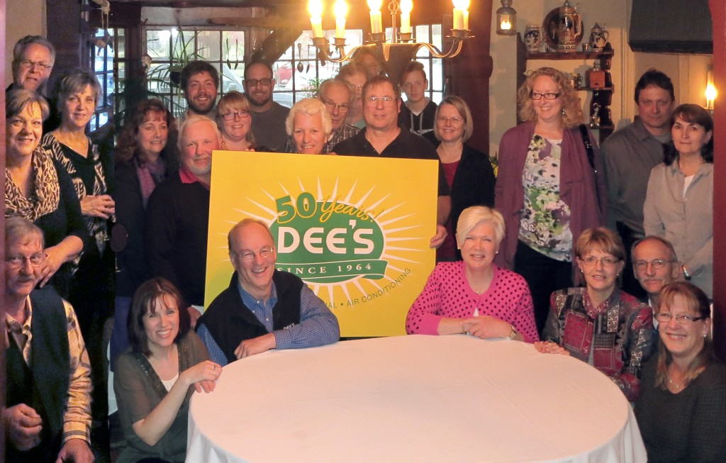 Celebrating the 50th anniversary at Dee's Electric