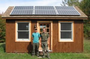 Lee Gustafson and Paul Gustafson of Net Zero Renewable Resources