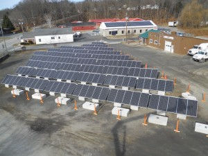 The third and final component of the solar energy production facility comes online at the expanded HB Energy campus.