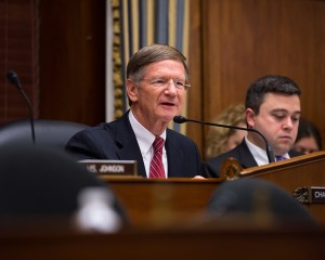 """Congressman Lamar Smith (R-TX), chair of the House Science, Space and Technology Committee, calls the Obama administration's 2014 National Climate Assessment -- which squarely pins the blame for global warming on human industrial activity -- """"a political document intended to frighten Americans into believing that any abnormal weather we experience is the direct result of human CO2 emissions."""" Photo: NASA HQ, Flickr CC"""