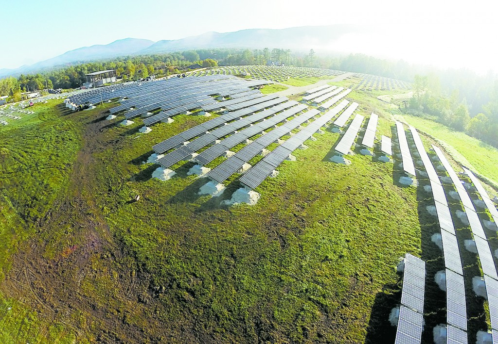 Final commissioning of project is expected in June once all battery storage and controls are fully tested. Photo: Green Mountain Power.