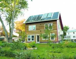 This home in Greenfield won the NESEA 2015 Zero Net Energy Building Award. Photo courtesy of NESEA.