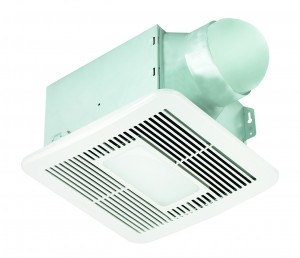 A bathroom fan helps with indoor air quality.