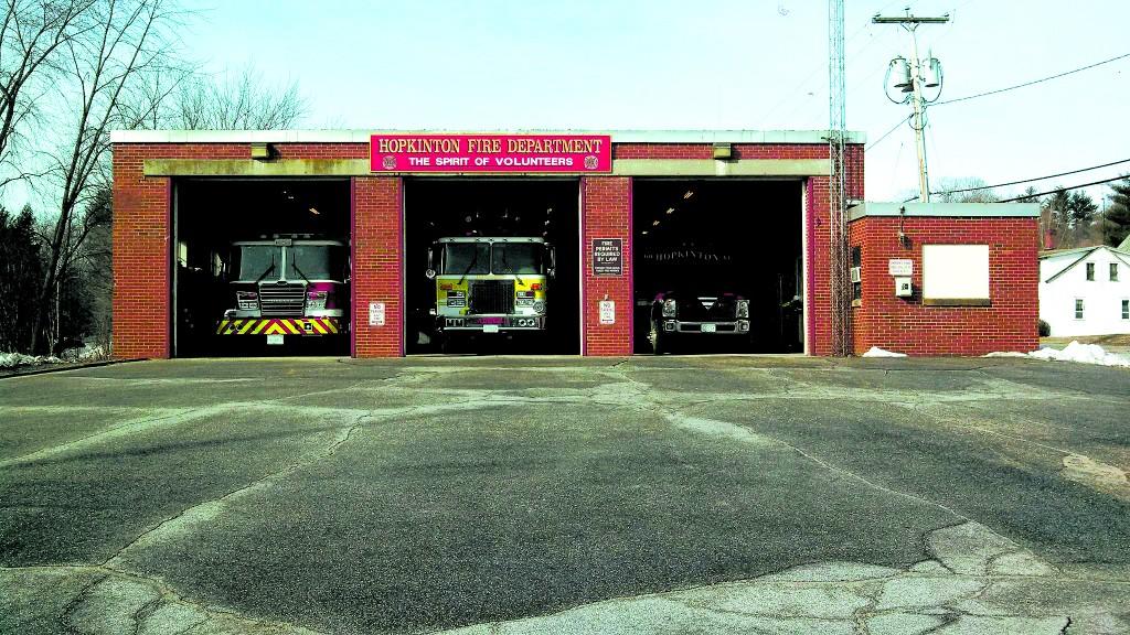 Hopkinton Fire Station. Photos courtesy of Chief Doug Mumford, Hopkinton Fire Dept.