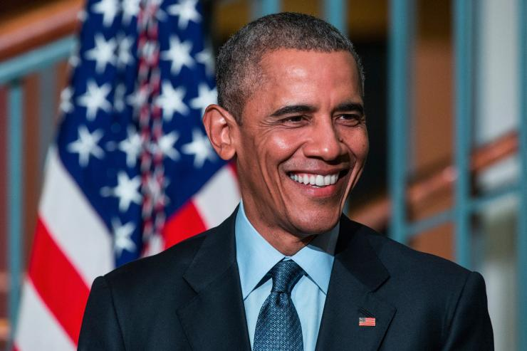 U.S. President Barack Obama speaks at the Rutgers University-Newark S.I. Newhouse Center for Law and Justice in New Jersey, Nov. 2, 2015. Andrew Burton/Getty Images
