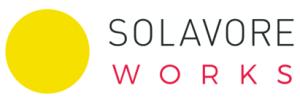 solavore works logo sun