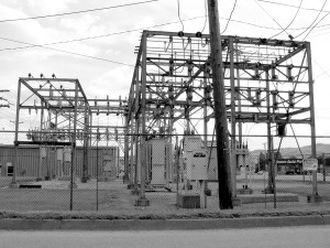 An electrical substation in Roaring Spring, Pennsylvania. Photo by Andrew Bossi CC-BY-SA-2.5
