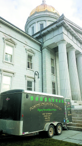 The second phase of weatherization has just been completed for the Vermont Statehouse. Work was done by Montpelier Construction and Common Sense Energy. Photos: Indigo Ruth-Davis, Montpelier Construction.