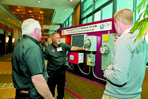 Electrical JATC of Southern Nevada demonstrating net metering technology. Photo: US Department of Energy (DOE).