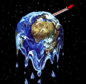 Melting Earth by Les James Humor. Image: Flickr