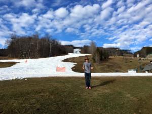 Alex Deibold. Bromley Mountain Ski Resort, VT. Dec., 2015