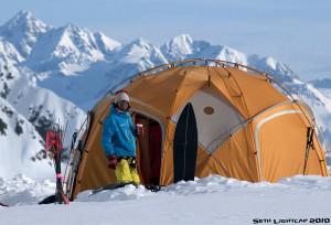 Snowboarder Jeremy Jones, Teton Gravity Research, Alaska. Photo: Flickr By Noguchi Porter Novelli.