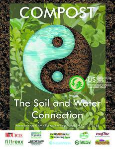 Winning poster design by Yessi Budisari of West Indonesia. Photo courtesy of the U.S. Composting Council.