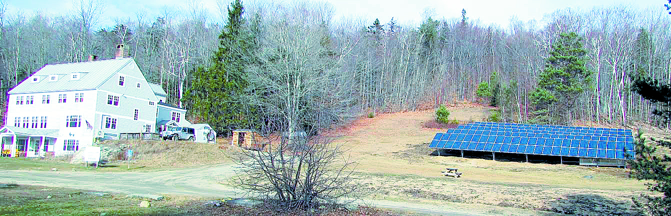 The Appalachian Mountain Club (AMC) moved further toward its goal for reducing its carbon footprint by installing a 73.2-kW solar array outside AMC's Cardigan Lodge in Alexandria, NH