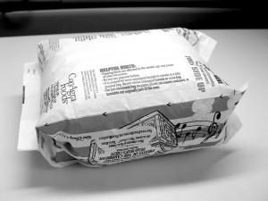 PFOA, a known carocinogenic, is found in microwave popcorn bags. Photo: Wikipedia