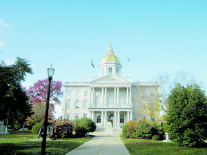 NH State House in Concord. Photo courtesy of the Jordan Institute.