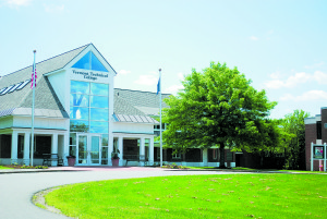 Vermont Technical College's main administration building. Photo courtesy of Vermont Technical College.