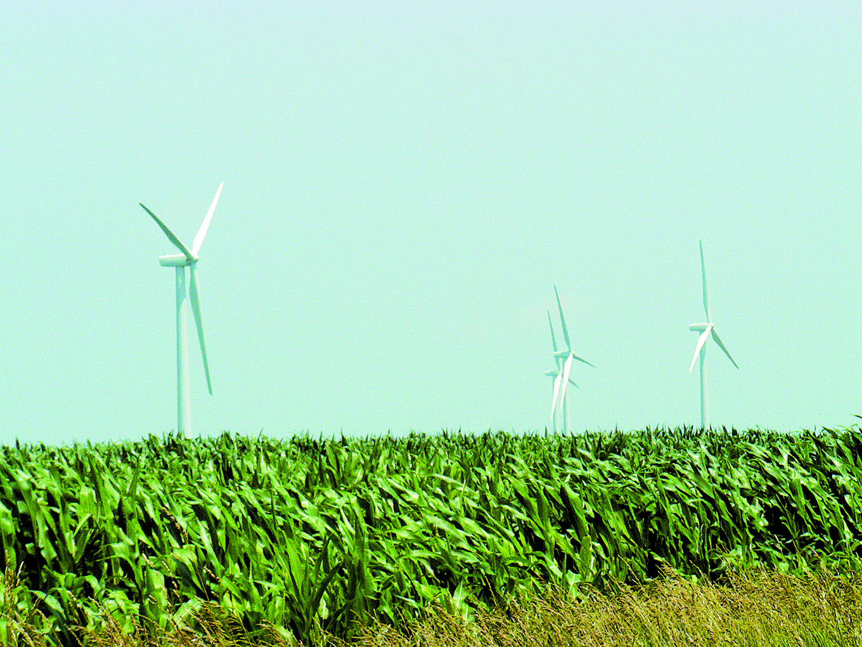 Wind turbines. Credit: D. O'Keefe, Michigan Sea Grant. CC BY-SA 2.0