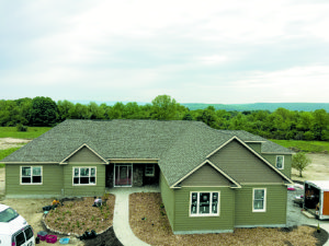 This net-zero ready home was built in Glenville, NY by Halfmoon Construction.