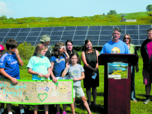 One of many pro-solar events held by groups in Vermont last year. Photo courtesy of VPIRG.