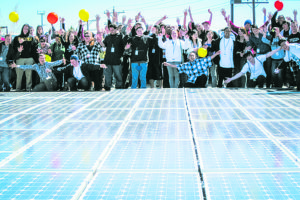 The non-profit Black Rock Solar helped Rainshadow Community Charter High School in Reno, Nevada installed a 31 kilowatt photovoltaic array in 2010.