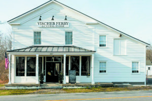 The repurposed building is now energy efficient and called the Vischer Ferry General Store and apartments. Photos above and to the right courtesy of Joanne Coons.