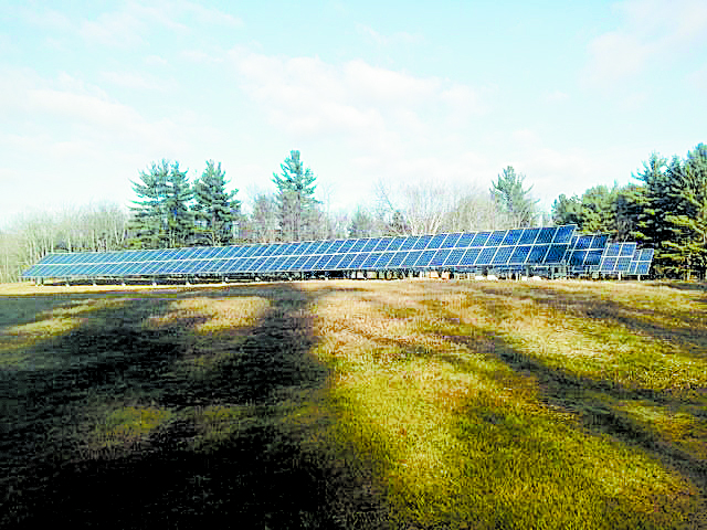 The 82 kW solar system will reduce their carbon emissions by 140 tons each year.
