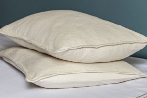 Organic Youth Bed Pillows. Courtesy photos from Chris Molnar, Cate's Garden and Mother Sheep Organics.