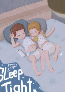 Good night and sleep tight. Photo credit: http://hamsterburrito.deviantart.com.