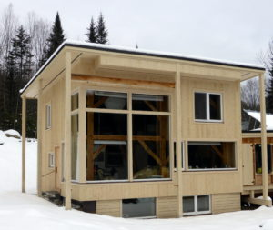 Whitchurch Passive House cottage. Courtesy photo