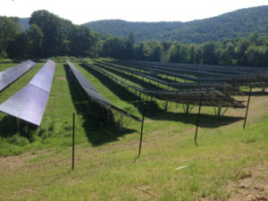 500kW photovoltaic array in Sharon, VT. Courtesy photo.