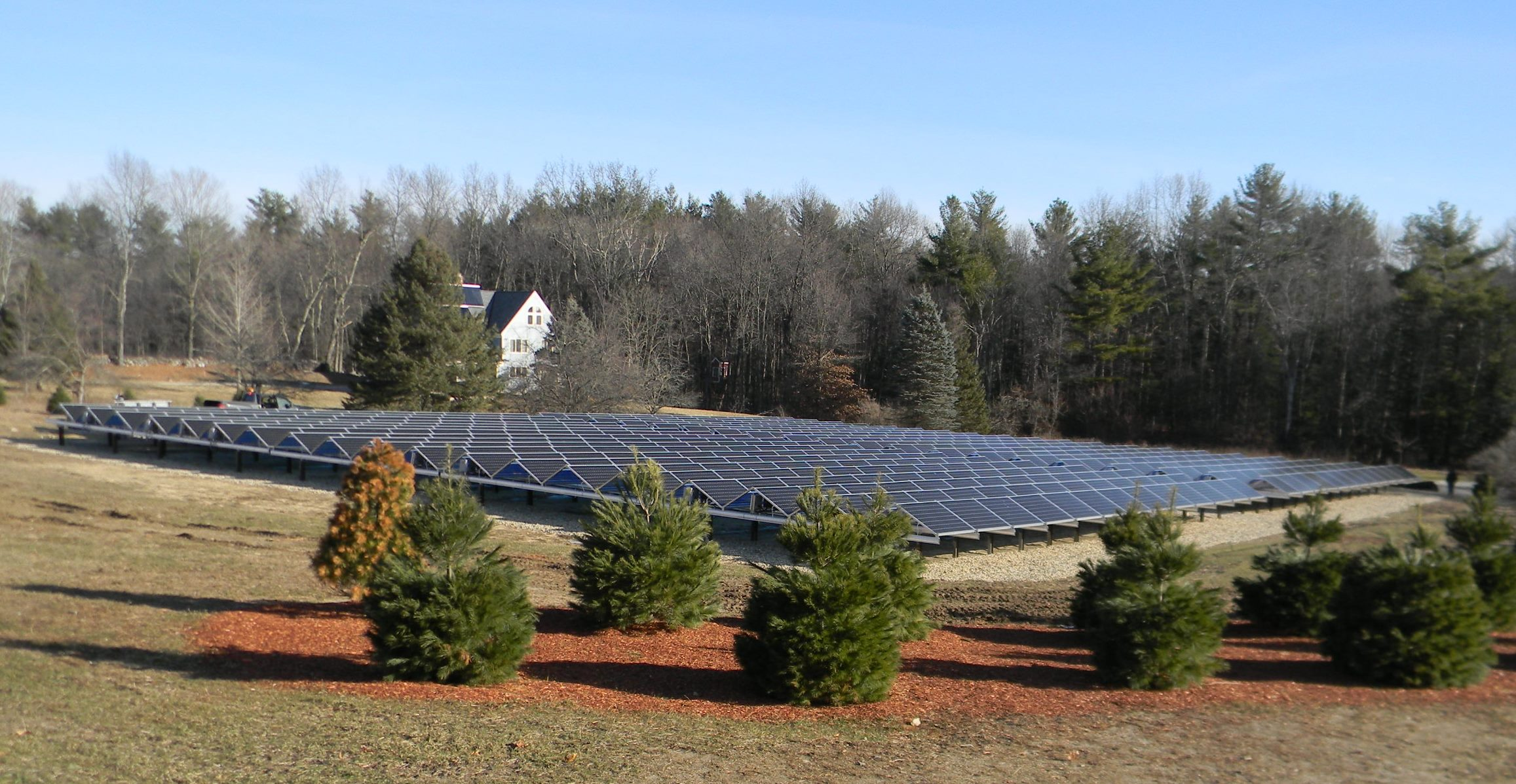 The Tolemac Solar Array. Photo credit Solar Source.
