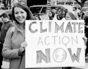 January 21, 2017 Women's March in Washington, D.C. in behalf of climate change. Photo: John Bos.