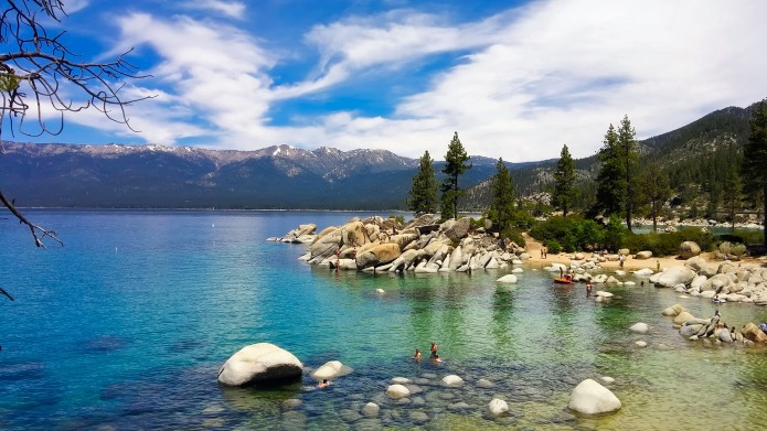 Lake Tahoe in summer