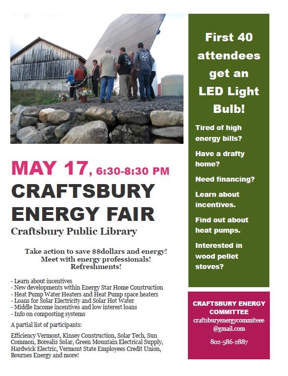 Craftsbury Energy Fair