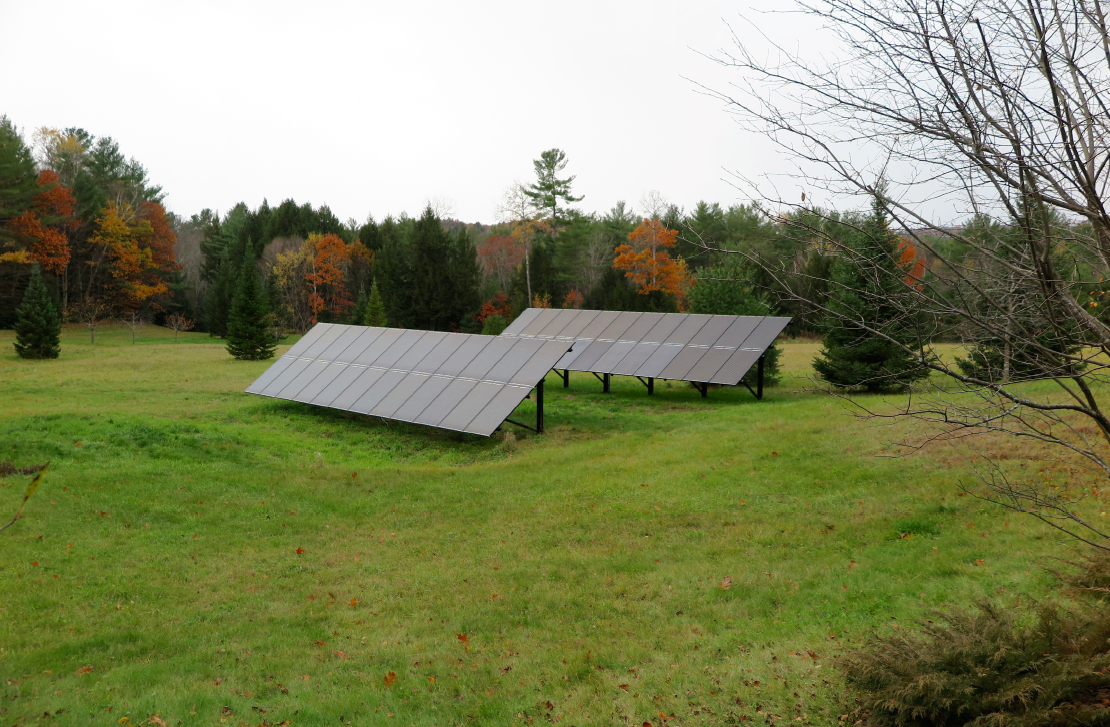 13.4kW residential solar - Lyme, NH