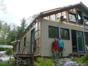 Janice and Steve Kurkoski doing some high performance improvements to their home.