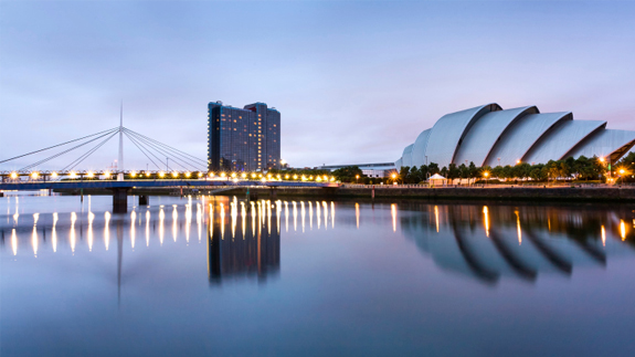 The River Clyde will be used as the source of heat. Image: Thinkstock.