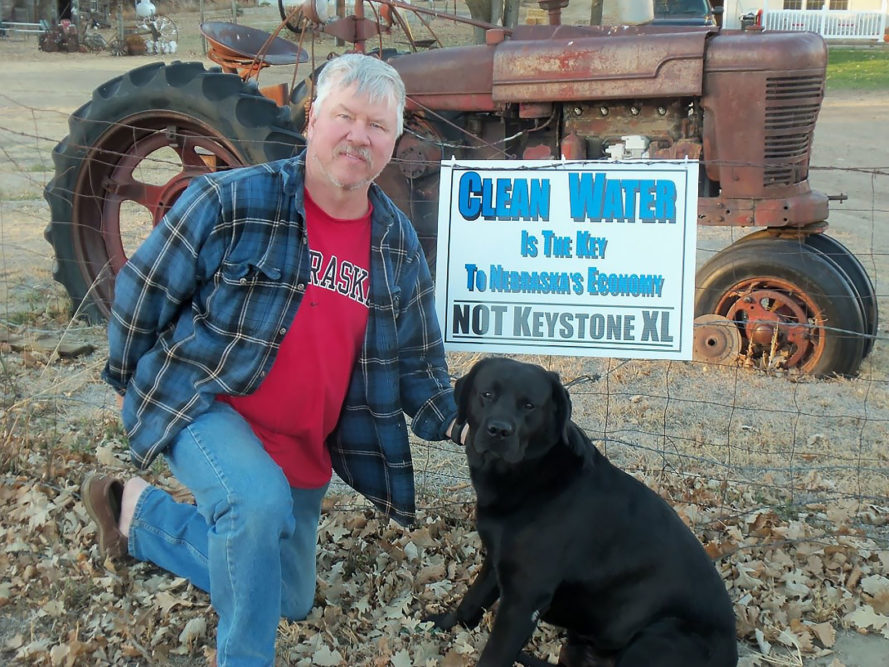 Nebraska landowner