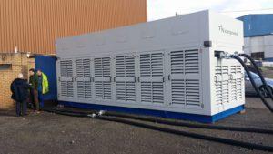 A Star Renewable Energy heat pump. SRE image.