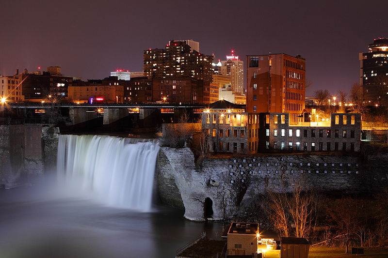 Rochester, New York (Evilarry, Wikimedia Commons)