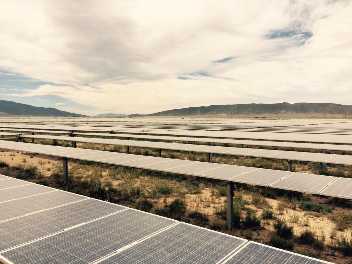 PVs in Utah (Photo: Governor's Office of Energy Development)