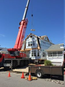 This Zero Energy Ready Home was assembled in one day, with the homeowners moving in three months later.  The ZERH standards help Garden State Modular Homes provide efficiency and a more robust home that can stand up to humid and stormy conditions at the Jersey Shore. Photo courtesy of Garden State Modular Homes, LLC.