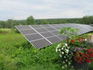Barrington Brewery's new solar PV system will produce 168,000 kilowatt hours annually. The 144kW PV system consists of 480 panels. Courtesy photo.